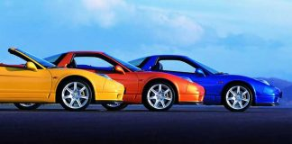 رنگ اتومبیلها