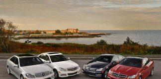 جلوبندی خودروهای مرسدس بنز