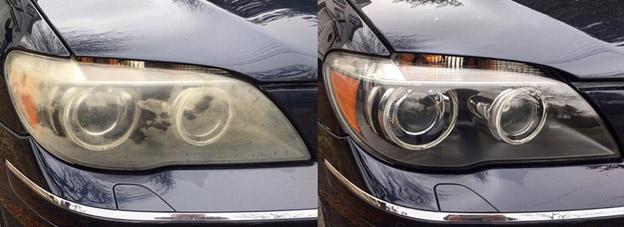 رفع کدری چراغ ماشین