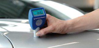 Automotive-Paint-Meter-On-Car