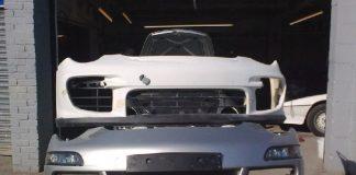 Porsche's-car-bumper-repairr