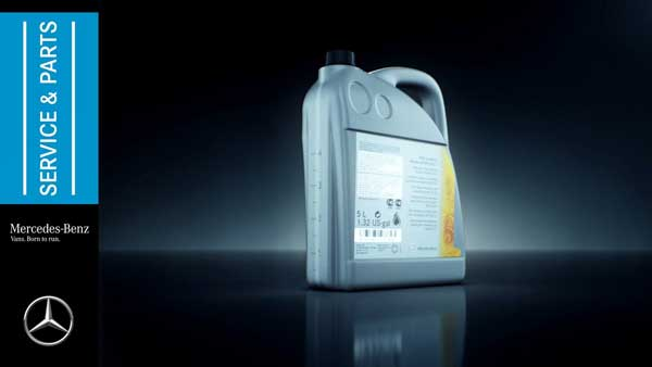 mercedes benz motor oil