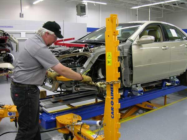 مراکز تخصصی صافکاری خودرو