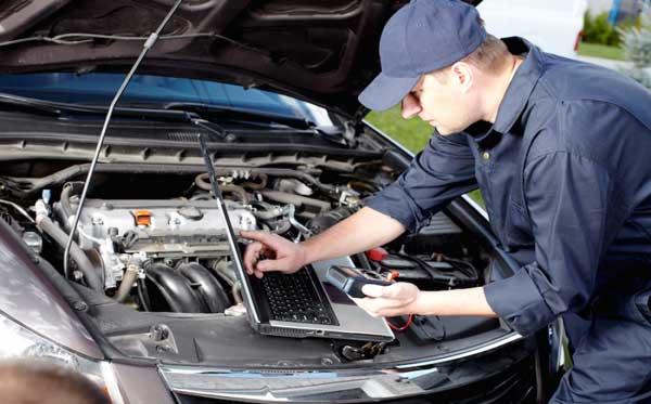 بررسی سلامت خودرو در محل