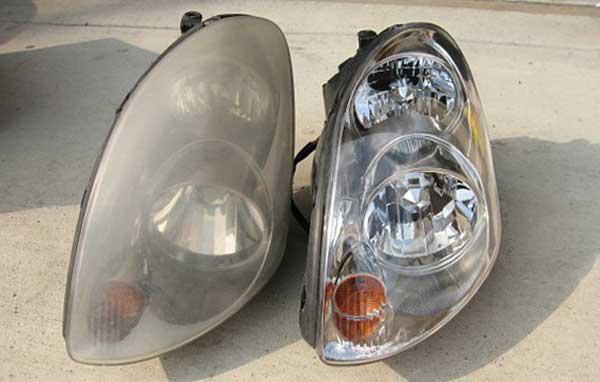 رفع کدری چراغ اتومبیلهای لوکس به صورت تخصصی
