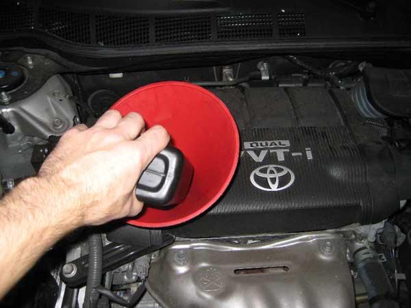 تعویض روغن موتور خودروهای آفرود