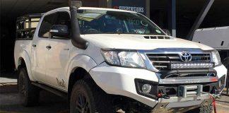ترمیم سپر خودروهای آفرودی
