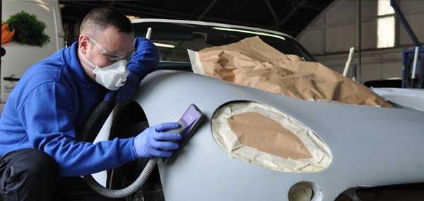 صافکاری با رنگ در ترمیم قطعات خودرو