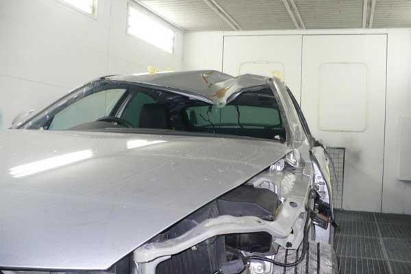 صافکاری سقف و ستون خودرو