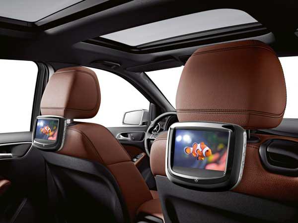 مانیتور و سیستم مولتی مدیا خودروهای مرسدس بنز