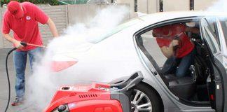 استفاده از بخار در کارواش خودروها