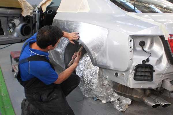 صافکاری خودروهای لوکس وارداتی