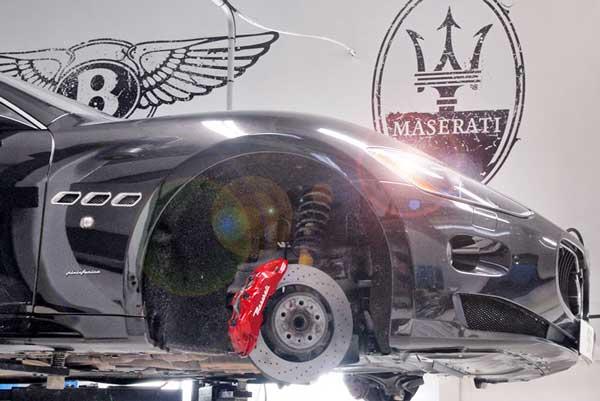 تعمیرات تخصصی خودروهای لوکس مازراتی