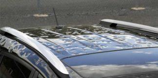 رفع آثار تگرگ از روی بدنه خودروها