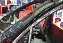 صافکاری ستون خودرو